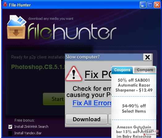 FileHunter kép