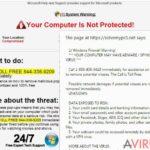 """Firewall Warning"" felugró kép"