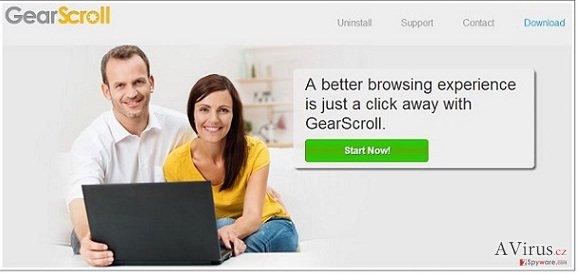 GearScroll vírus kép