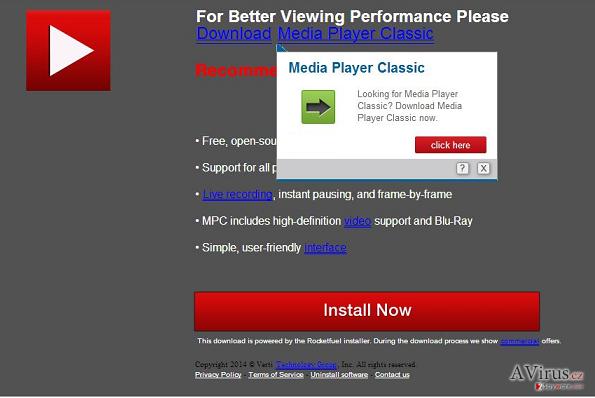 Downloadju.com felugró vírus kép