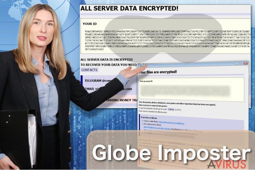 Globe Imposter zsarolóvírus