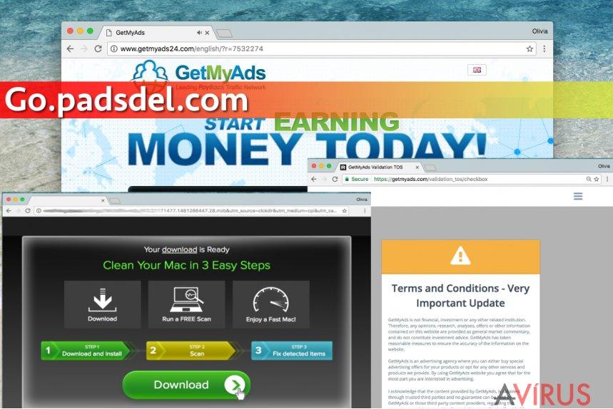 Go.padsdel.com felugró vírus kép