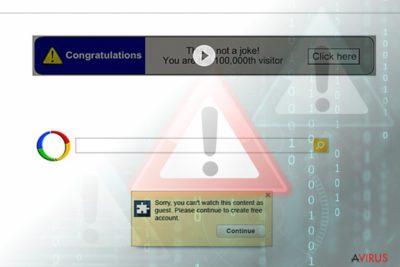 Google-átirányító vírus (keresési találatok)