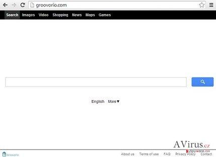 Groovorio.com vírus kép