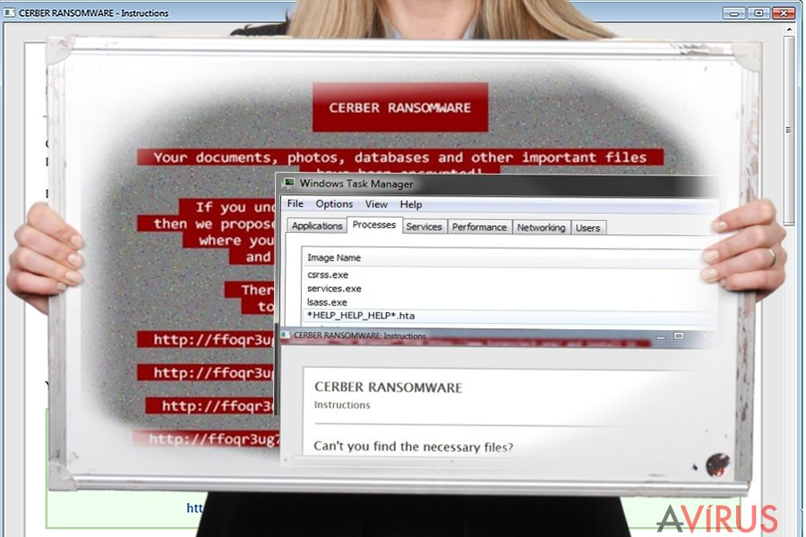 Kép a Help_help_help vírusról