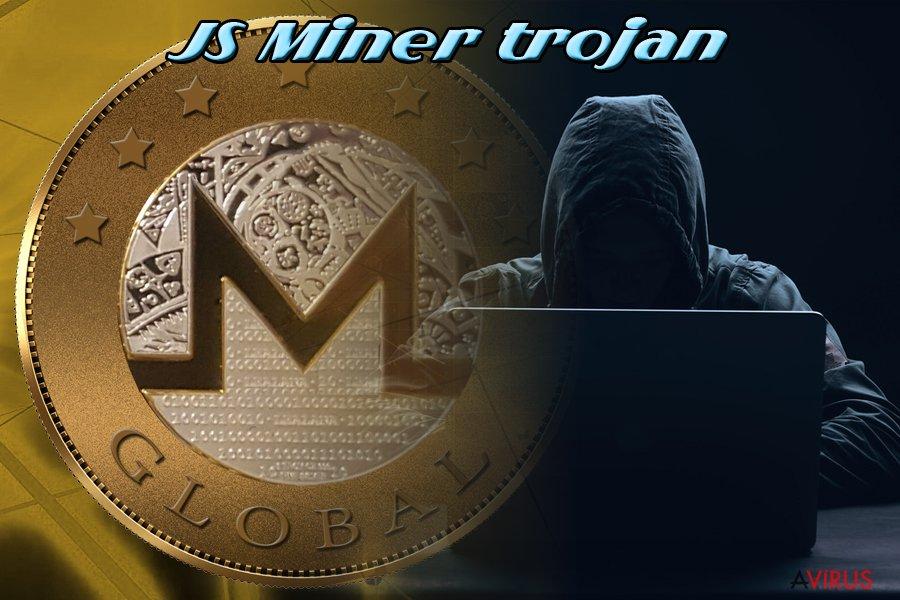 Js Miner trojan horse