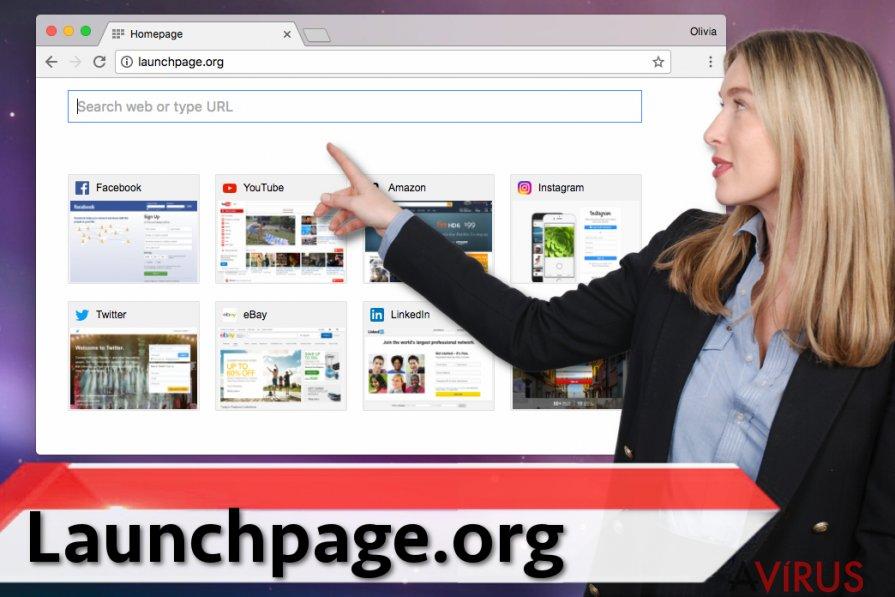 Launchpage.org vírus