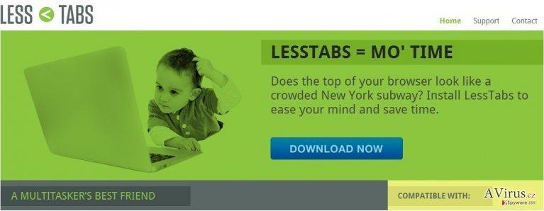 Less Tabs kép