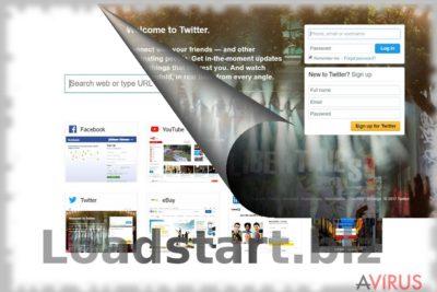 Kép a Loadstart.biz vírusról