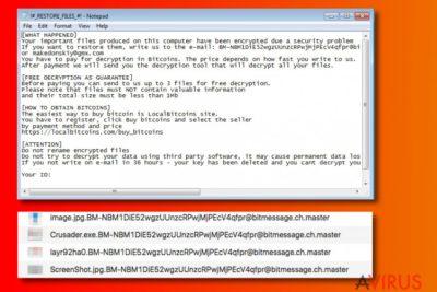 Master ransomware