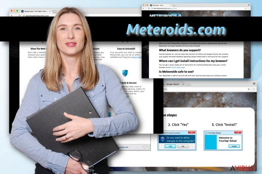 Meteoroids vírus kép