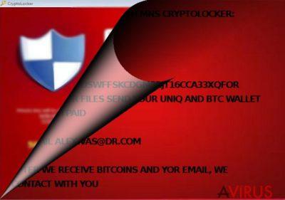 Az MNS Cryptolocker a CryptoLockerhez kötődik?