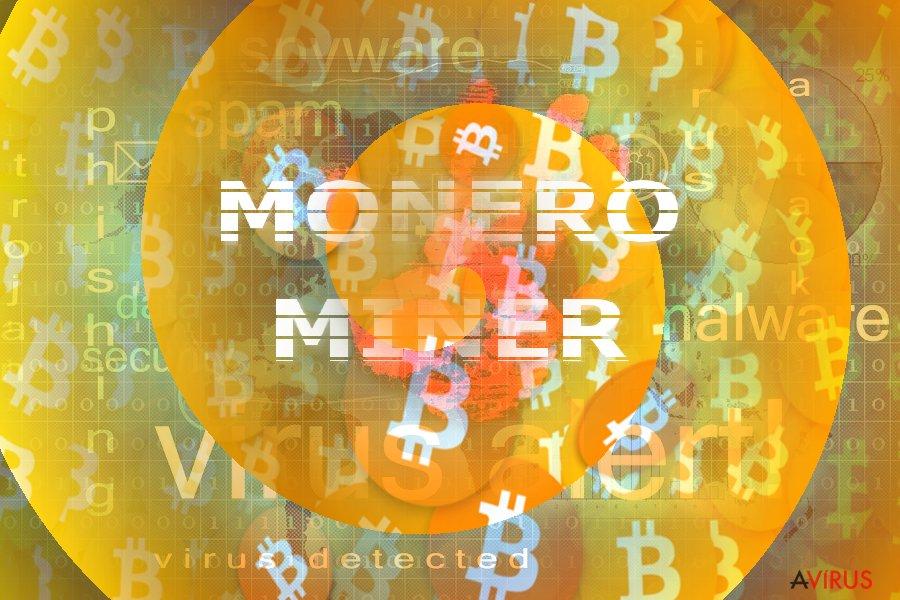 A Monero Miner illusztrációja