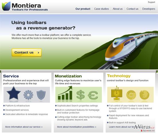 Montiera eszköztár kép