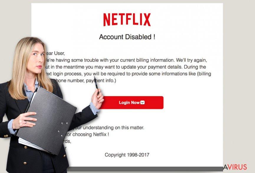Netflix.com hirdetések