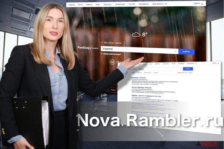 A Nova Rambler felülete