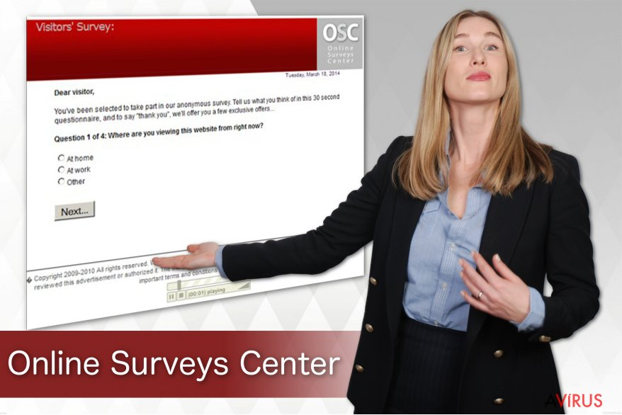 Online Surveys Center vírus