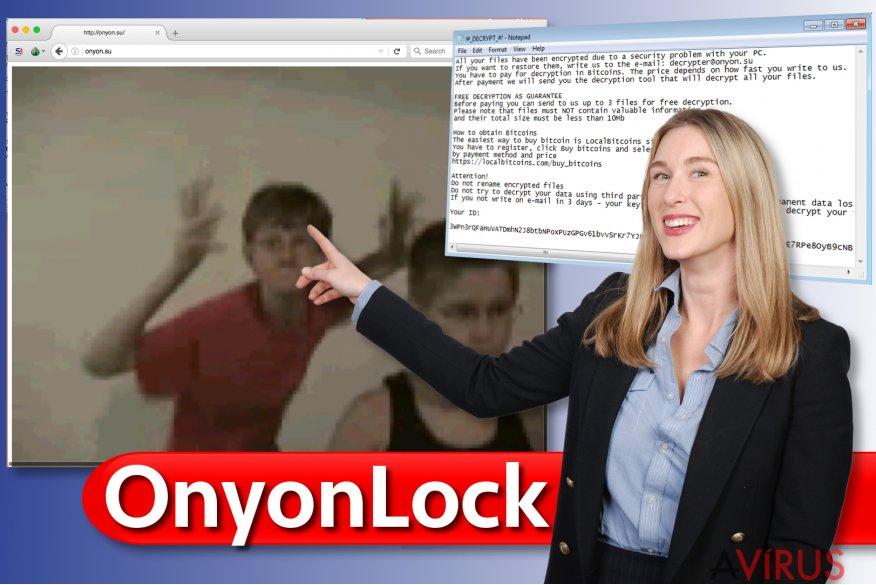 Az OnyonLock ransomware vírus