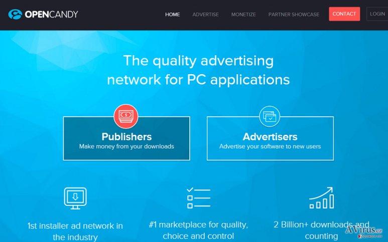 OpenCandy hirdetések kép