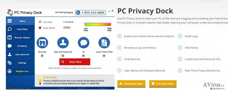 PC Privacy Dock kép