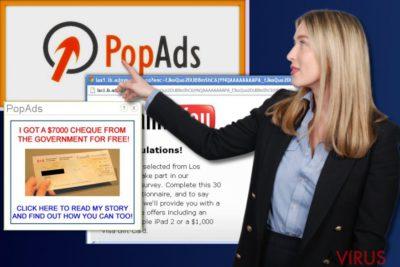 PopAds hirdetések
