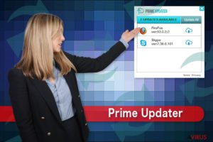 Prime Updater vírus