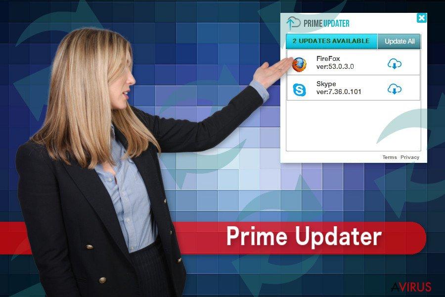 Kép a Prime Updaterről