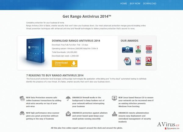 Rango Win 8 Antivirus 2014 kép