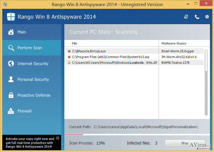 Rango Win 7 Antispyware 2014