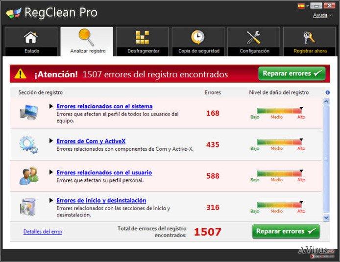 RegClean Pro kép