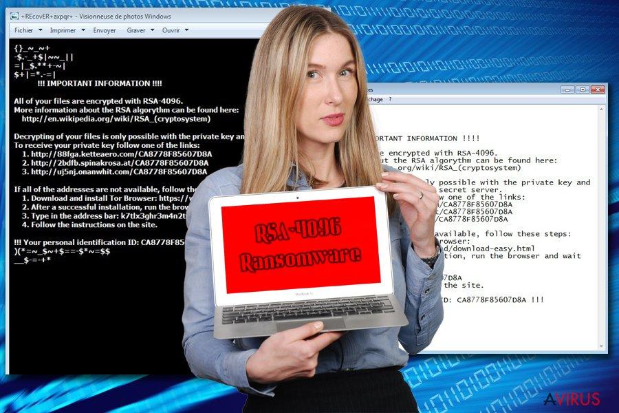 RSA-4096 ransomware kép