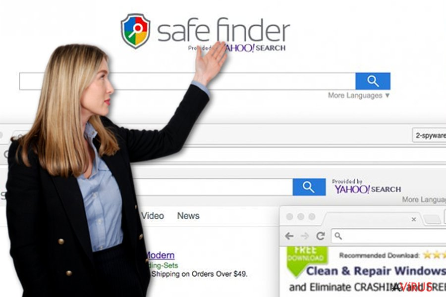Safe Finder vírus
