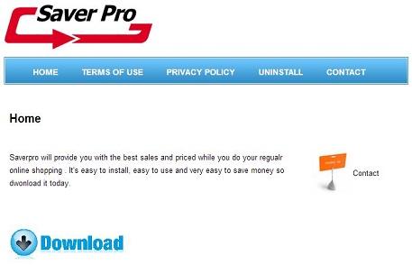 SaverPro vírus kép