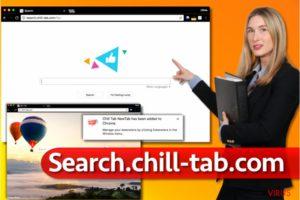 Search.chill-tab.com vírus