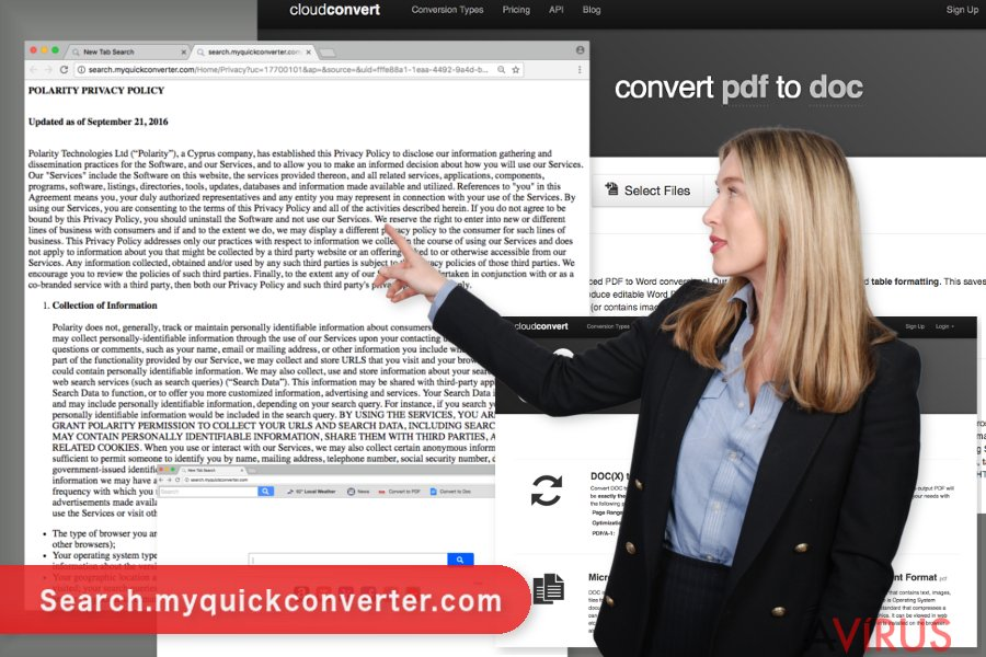 Kép a Search.myquickconverter.com vírusról