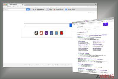 Példa a Search.myquickconverter.com keresőmotorjára