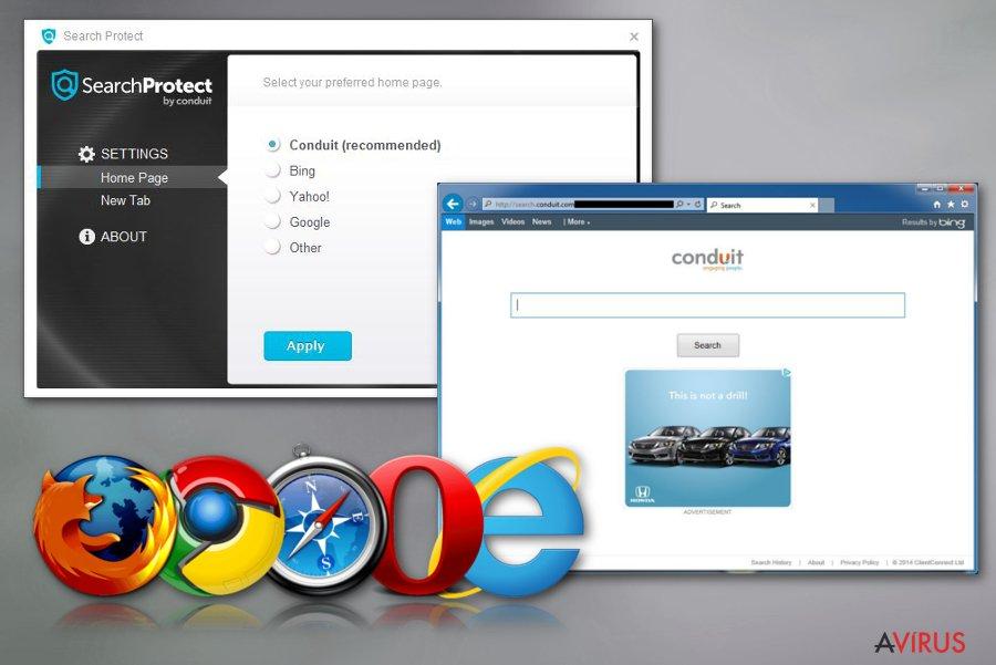 Search Protect kép