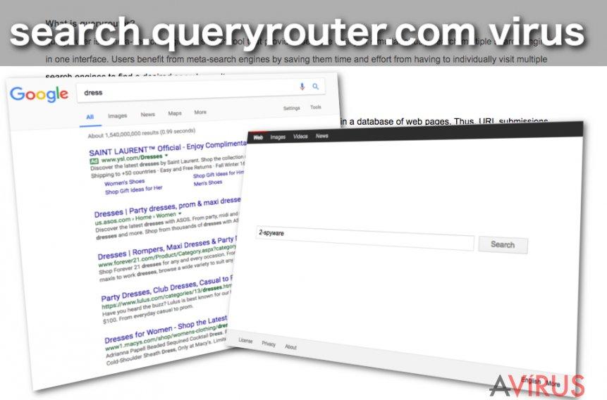 Search.queryrouter.com vírus