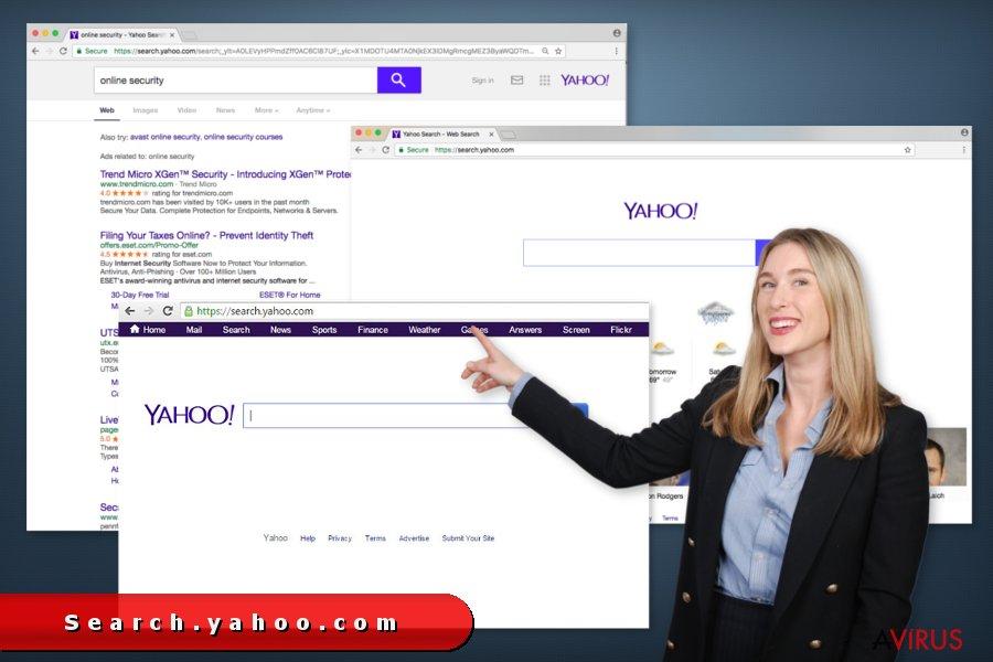 search.yahoo.com átirányító