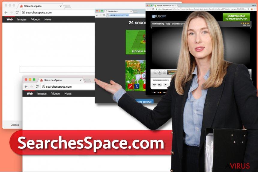 SearchesSpace.com vírus