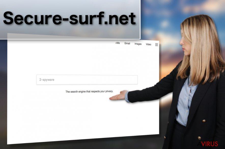 Kép a Secure-surf.net vírusról