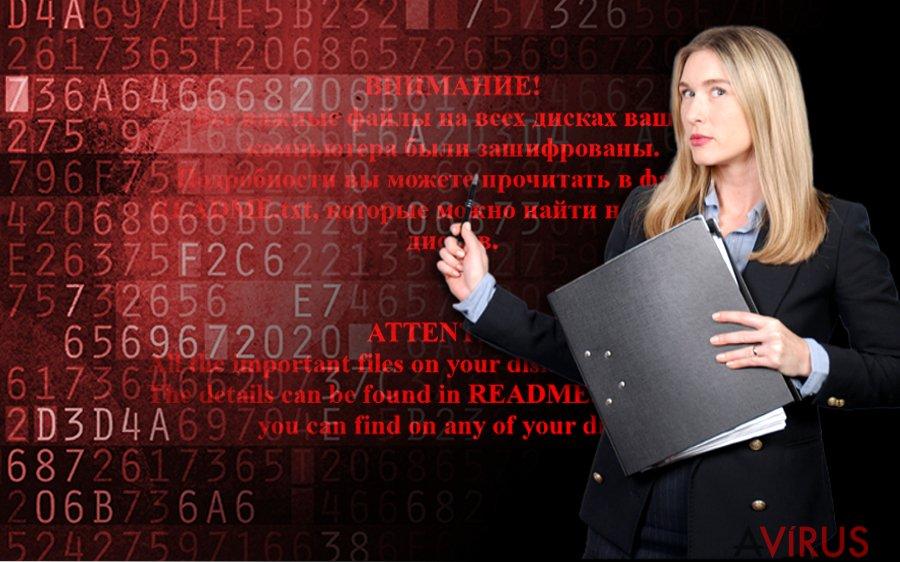 Shade ransomware kép