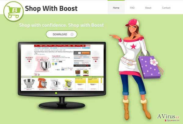 Shop with Boost vírus kép