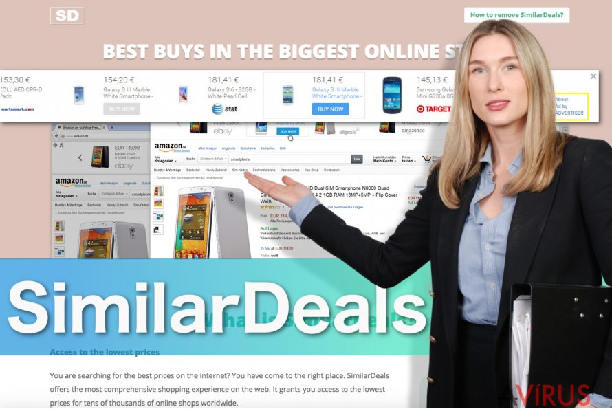 SimilarDeals ads