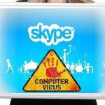 Skype vírus kép