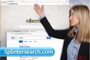 Splintersearch.com vírus