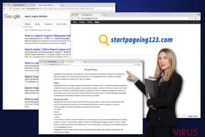 A StartPageing123 vírus