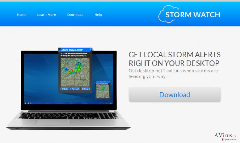 StormWatch hirdetések kép