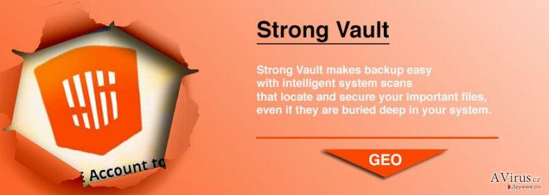 StrongVault Online Backup kép