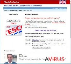 Online Surveys Center virus